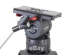 Sachtler Video 15 Plus 15P Head Carbon Fiber Tripod 15Plus 100mm