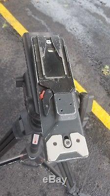 Sachtler Video 18SB Fluid Head & Carbon Fiber Tripod System With Wheeled Dolly