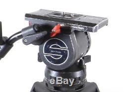 Sachtler Video 18 II Fluid Head Carbon Fiber Tripod System 18II
