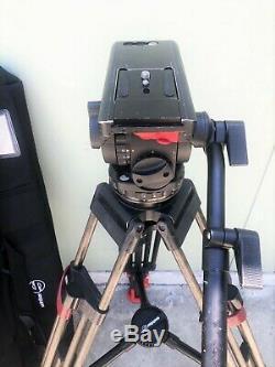 Sachtler Video 18 S2 Fluid Head & Speed Lock Carbon Fiber Tripod System