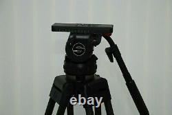 Sachtler Video 20P 100MM Bowl Head +Sachtler 2Stage Carbon Fiber Tripod legs+bag
