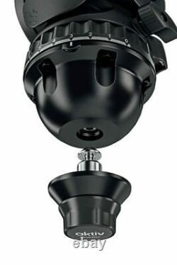 Sachtler aktiv8 Sideload Fluid Head with SpeedLevel & 7-Step Drag (75mm)Preorder