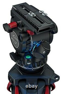 Sachtler aktiv8 flowtech75 MS Tripod System Fluid Head S2068S-FTMS IN STOCK