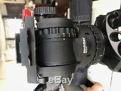 Sachtler system FSB-8 head and Speed Lock Carbon Fiber Tripod 75mm with case