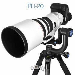 Sirui Gimbal Heads PH-20 Carbon Fiber Arm Watching Focus Lens Panoramic Head