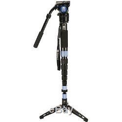 Sirui P-426SR + VH10X Carbon Fiber Monopod Tripod For Camera Hydraulic Head