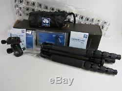 Sirui T-025X Carbon Fiber 8X 5 Sections Tripod & Sirui C-20S Ball Head plus Bag