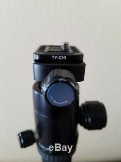 Sirui T-025x Carbon Fiber Tripod with C-10 Ball Head Travel Tripod