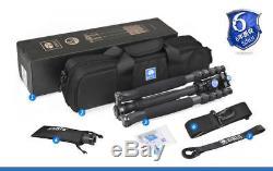 Sirui T-1205SK + K10X Tripod Head 5-Section Carbon Fiber Portable Tripod Kit