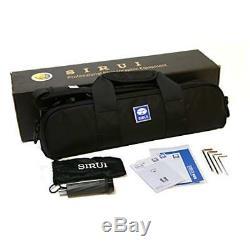 Sirui T-2205SK 5-Section Carbon Fiber Travel Tripod with G-20X Ball Head kit USA