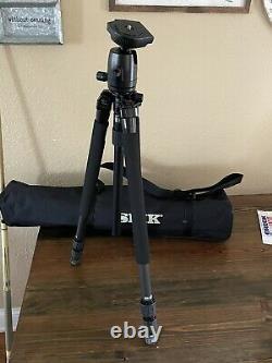 Slik Pro 713 CF-II Carbon Fiber Tripod Professional Photography Ball Head 800