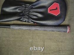 Tommy Armour Atomic driver 10.5 UST Mamiya Helium R flex shaft + head cover