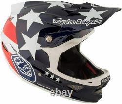 Troy Lee Designs D3 Freedom Carbon MIPS Helmet Blue XL BMX MTB DH Mountain Bike