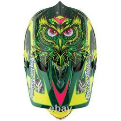 Troy Lee Designs TLD D3 Carbon MIPS MTB Bicycle Helmet Nightfall Green Medium