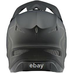 Troy Lee Designs TLD D3 Fiberlite Downhill MTB Helmet Mono Matte Black Large