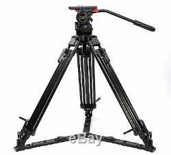 V18T 70 Carbon Video Tripod Professional Camcorder Tripod Fluid Head 18kg Film