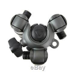 Vanguard VEO 2 235CB 5-Section Carbon Fiber Tripod with BH-50 Ball Head, Gray