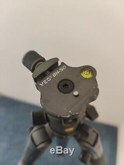 Vanguard VEO 2 265CB 5-Section Carbon Fiber Tripod with BH-50 Ball Head, Gray