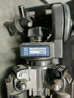 Velbon Carmagne 640 Magnesium & Carbon Fiber Tripod + Manfrotto 3130 Pan Head