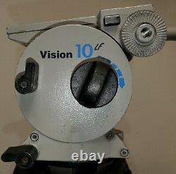 Vinten Carbon Fiber Tripod Vision 10 LF Head Free Shipping