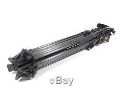 Vinten Vision 100 Fluid Head Tripod Carbon Fiber Legs 100mm