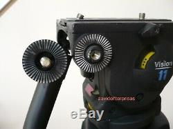 Vinten Vision 11 fluid head with carbon fiber PosiLock tripod, CF