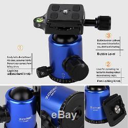 Z818C Light Weight Carbon Fiber Travel Tripod Monopod&Ball Head for DSLR Camera