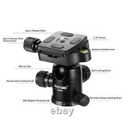 ZOMEI Pro Carbon Fiber Q666C Tripod Lightweight with 360° Ball Head For Camera
