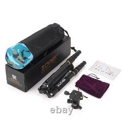 ZOMEI Professional Carbon Fiber Tripod Monopod Ball Head LIGHT Weight For Camera