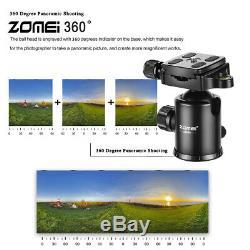 ZOMEI Z668C Carbon Fiber Tripod Monopod&Ball Head for Canon Nikon DSLR camera