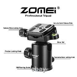 ZOMEI Z669C Portable Tripod Carbon Fiber Leg Ball Head Monopod Tripod for Camera