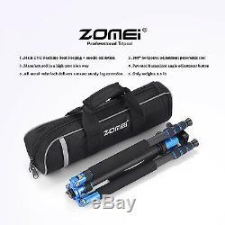 ZOMEI Z818C Professional Carbon Fiber Tripod Monopod Ball Head for DSLR