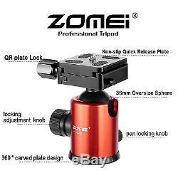 ZOMEI Z818C Professional Carbon Fiber Tripod Monopod&Ball Head for DSLR Camera