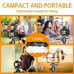 ZOMEi Z666C Portable Carbon Fiber Tripod Monopod & Ball Head Compact for Camera