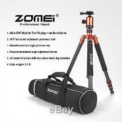 Zomei Z818C Carbon Fiber Tripod Monopod Ball Head for Travel Camera DSLR Outdoor